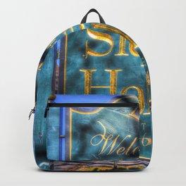 Sleepy Hollow Village Sign Backpack