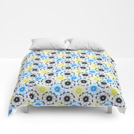 little wildflowers Comforters