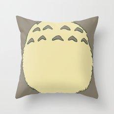 Sweet Neighbour Belly Throw Pillow