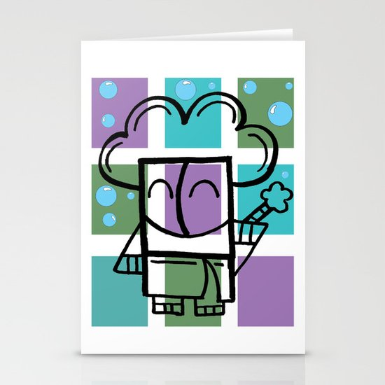 Bath Time Stationery Cards