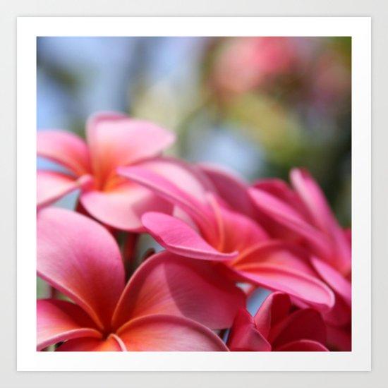 He Pua Lahaole Ulu Wehi Aloha Art Print