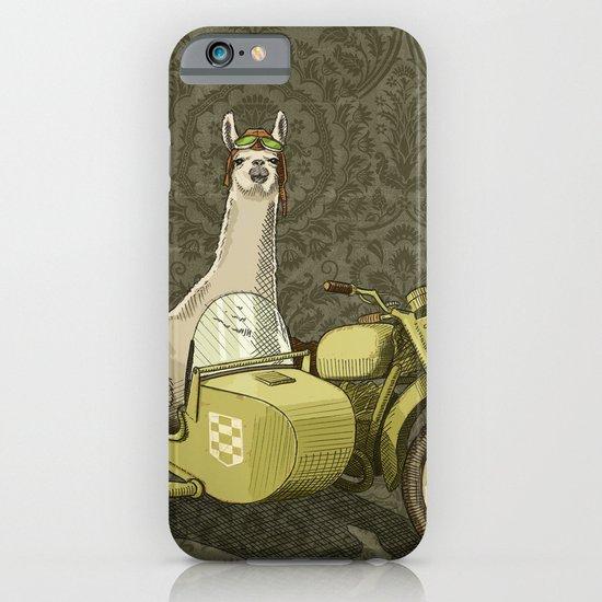 Sidecar Llama iPhone & iPod Case