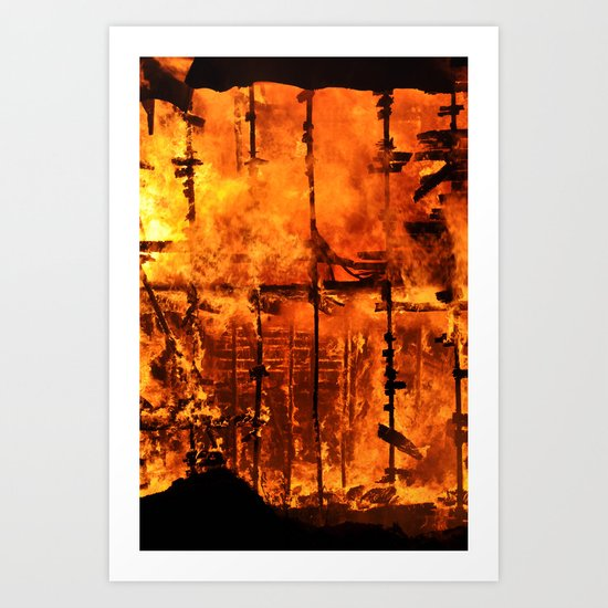 Beauty from Ashes Art Print