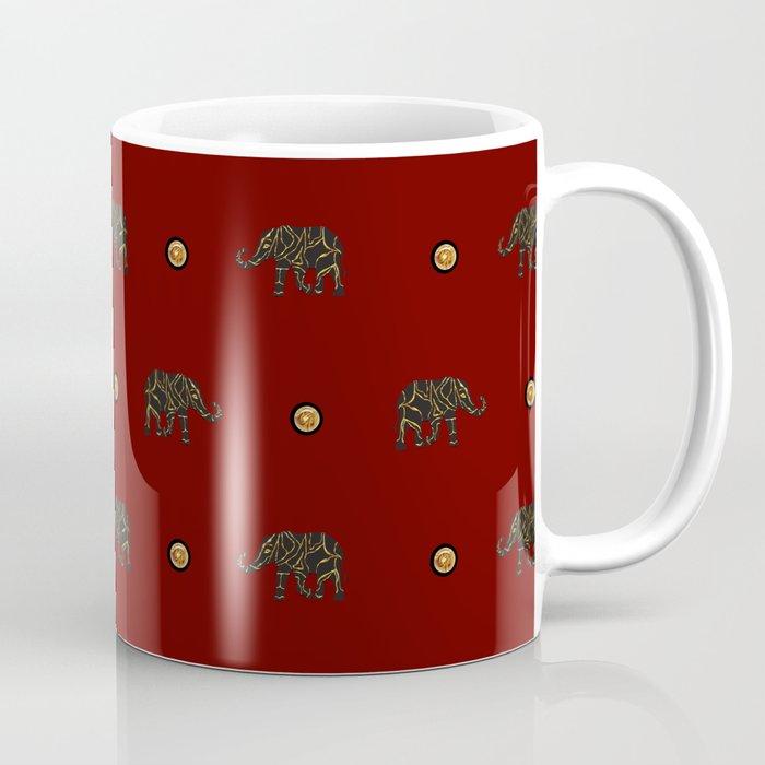 Elephants II Coffee Mug