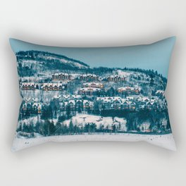 Winter Night Rectangular Pillow