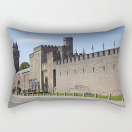 Cardiff castle Rectangular Pillow