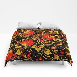 Russian khokhloma Comforters