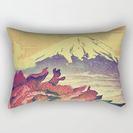 Flowering at Hamata Rectangular Pillow