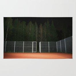 Black Lodge Tennis Court Rug