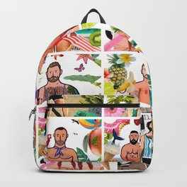 Beard Boy: Summer of fun Backpack