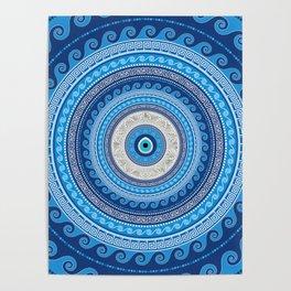 Greek Mati Mataki - Matiasma Evil Eye ornament #2 Poster