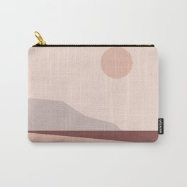 Abstract Landscape 02 Carry-All Pouch