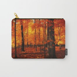 Fall Trees (orange) Carry-All Pouch