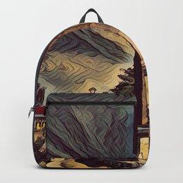obelisk painting Backpack