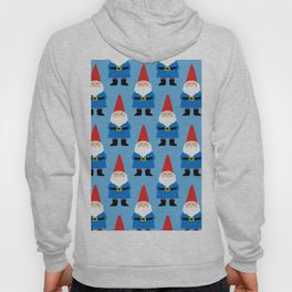 Gnome Repeat in Blue Hoody