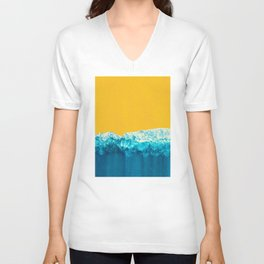 Yellow Tide Unisex V-Neck