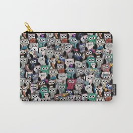 Gemstone Owls Carry-All Pouch
