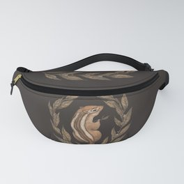 The Chipmunk and Bay Laurel Fanny Pack