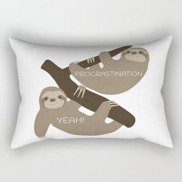 Procrastination Yeah! Rectangular Pillow