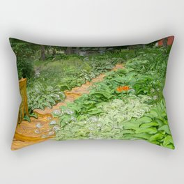 Garden Path Rectangular Pillow