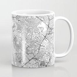 Manila White Map Coffee Mug