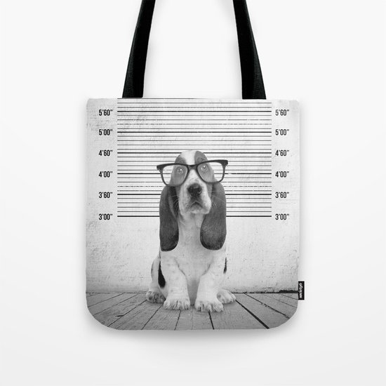 Guilty Puppy Tote Bag