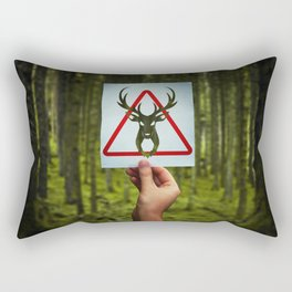 stop poaching Rectangular Pillow