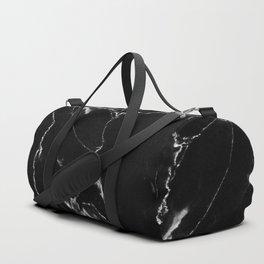 Black Marble I Duffle Bag