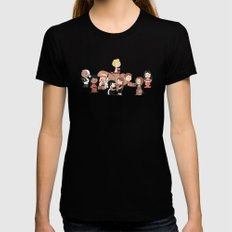 Firefly: The Gang - revised Womens Fitted Tee Black MEDIUM