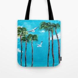 San Diego Palms 2 Tote Bag