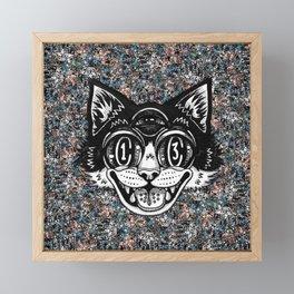 The Creative Cat Framed Mini Art Print