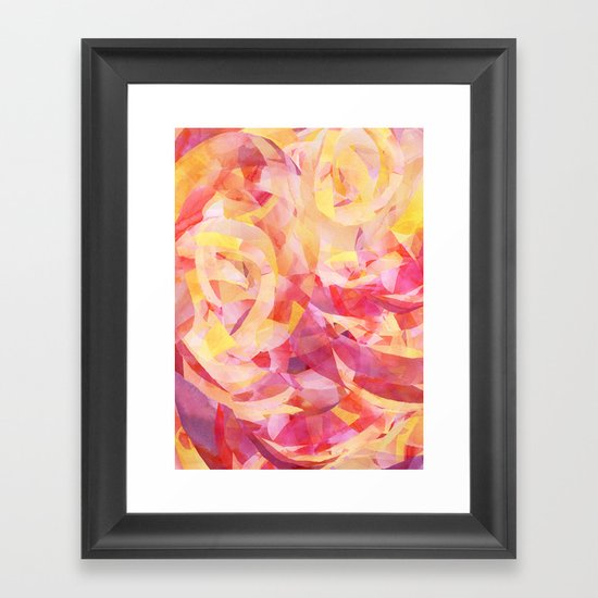 Concentric (Rise Remix) Framed Art Print
