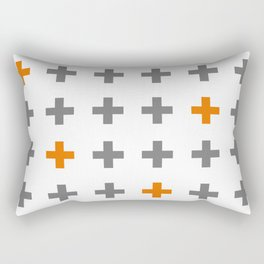 Swiss cross / plus sign Rectangular Pillow
