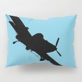 Crop Duster Silhouette Pillow Sham