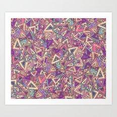 Try This Angle Art Print