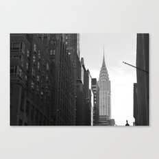 chrysler from lex in grayscale Canvas Print