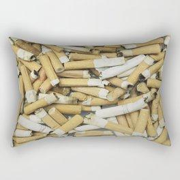 Cigarette butts dirty Rectangular Pillow