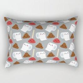 Toilet pattern Rectangular Pillow