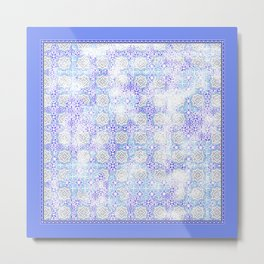 Tile Pattern Metal Print