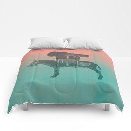 Rock Donkey Comforters