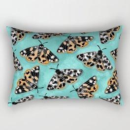 Tiger Moths Rectangular Pillow