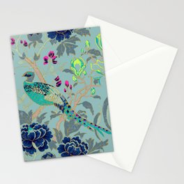 matthew williamson wallpaper peacock Stationery Cards
