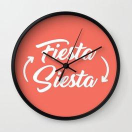 Fiesta Siesta Wall Clock