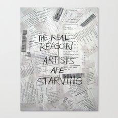 The Real Reason Canvas Print