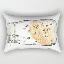 Captives: The Bee Jar Rectangular Pillow