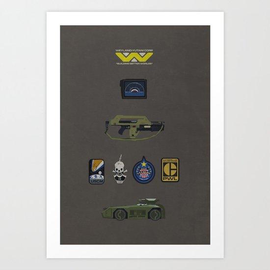 Aliens Art Print