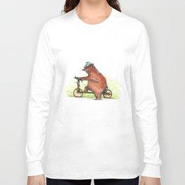 Bear Bike Long Sleeve T-shirt