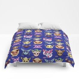 Eeveelutions Blue Comforters