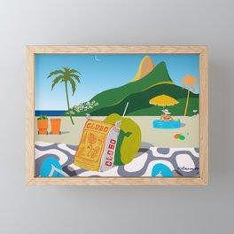 GLOBO COOKIES IN RIO Framed Mini Art Print