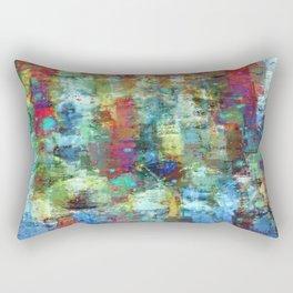 Panic Attack Rectangular Pillow